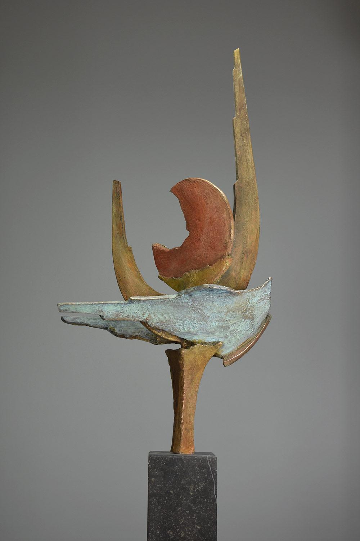 Nareena 180x38 - Klein bronzen beeld voor binnen
