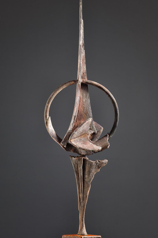Todo Cambia 75x30 - Groot bronzen beeld voor binnen
