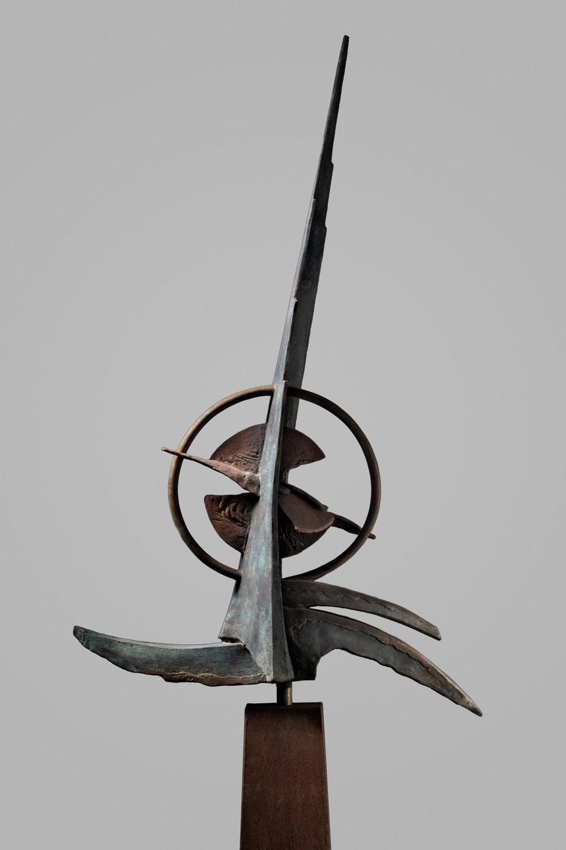 Atlantis 130x85 - Bronzen beeld voor buiten