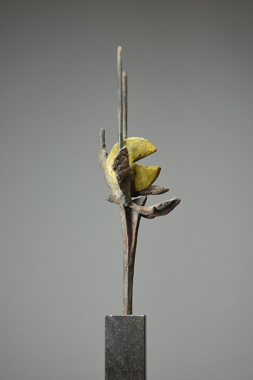 Carisma 46x14 - Klein bronzen beeld voor binnen
