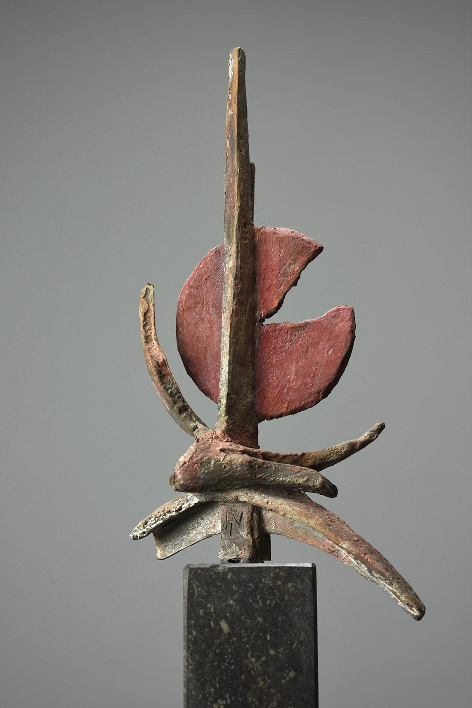 Intenso 37x12 - Klein bronzen beeld voor binnen